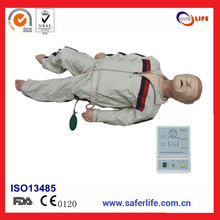 factory sale Medical Advanced nursing training manikins child CPR manikin with jacket