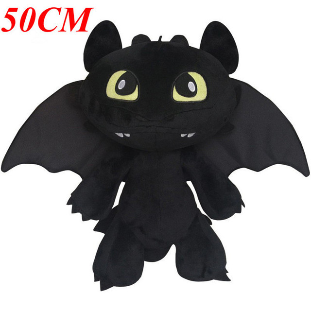 drago Cm Toy tuo il Peluche Toothless addestrare Dragon Big 50 Toy Size Come 4RjAL5