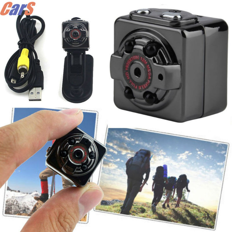 SQ8 Mini DV Camera 1080P Full HD Car IR Night Vision DVR Video Recor mini car DVR cameras car-styling
