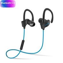 2019 Новые Bluetooth 5,0 наушники беспроводной Bluetooth спортивные наушники гарнитура Bluetooth водостойкий бас с микрофоном для Iphone