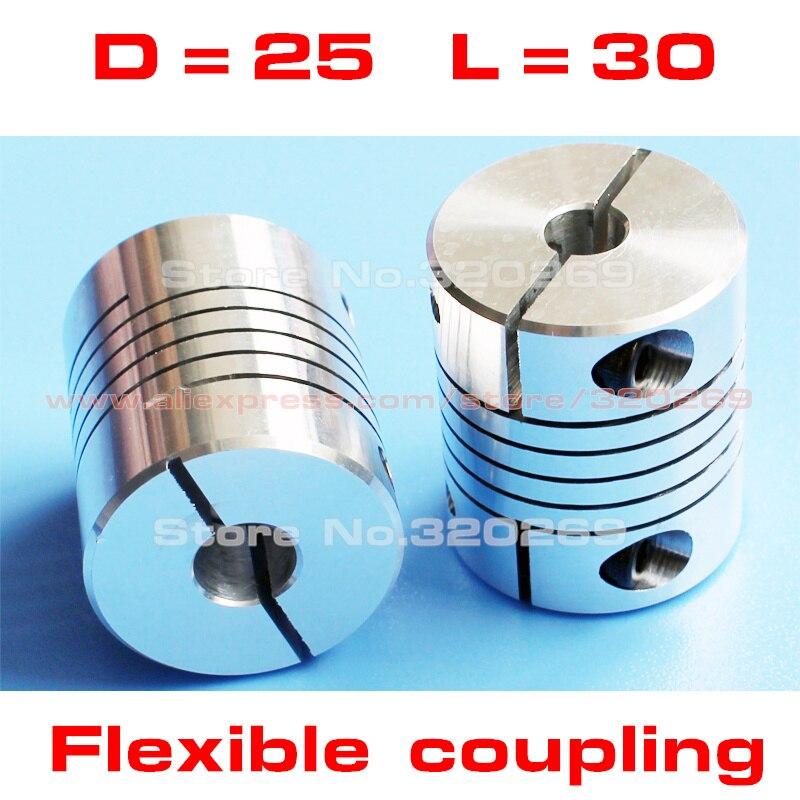 """1//2/"""" X 1//2/"""" 12.7 Rigid Shaft Ballscrew Coupler CNC Stepper Servo Motor Coupling"""