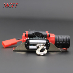 Image 3 - Remote Control Metal Winch Traction As Accessories for 1/10 RC Rock Crawler Car Traxxas HSP Redcat HPI 90046 D90 SCX10 TRX 4