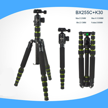 professional Carbon Fiber lightweight Tripod For DSLR Camera Change Monopod Panoramic Ball Head photo tripe camera