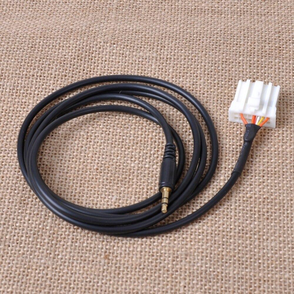 DWCX nouveau bricolage 3.5mm AUX Audio CD mâle Interface adaptateur câble pour téléphone lecteur de musique pour Mazda 2 3 5 6 2006 2007 2008 2009-2013