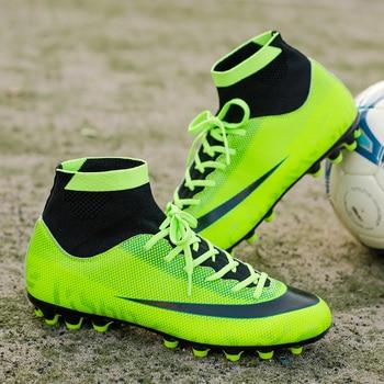 712fda0c Botas de fútbol nuevas para hombres zapatos de fútbol FG niños Superfly  Original High Ankle Soccer Cleats Chuteira Futebol venta al por mayor 07