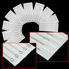 цена на 50 pcs  Professional Stainless steel Tattoo Needles 3RL Round Liner Sterile Piercing  Magnum Needles for Tattoo Machine Grips