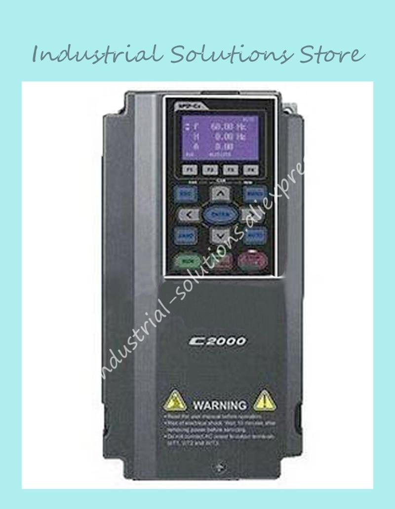 Entrada de CA de 3ph de salida de 380 V AC 3ph inversor C2000 serie VFD022C43A 0 ~ 480 V 6A 0 ~ 600 hz C2000 2.2kW 3HP nuevo Original