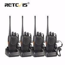 4 шт. Портативный Двухканальные рации Retevis H777 16ch UHF Хэм Радио HF трансивер 2 способ cb Радио станции Communicator портативной talkie набор