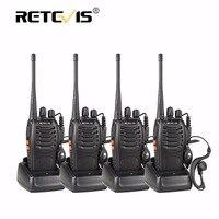2pcs New Hot Cheap Retevis H777 Portable Radio Walkie Talkie 5W 16CH Two Way Radio Interphone