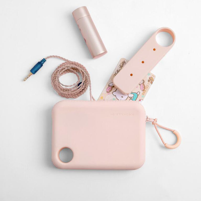 Image 2 - Xiaomi Jordan Judy Portable Silicone Storage Bag Soft Waterproof Neat Storage Bag for Cable Charger Keys Lips Earphone Phone-in Smart Remote Control from Consumer Electronics
