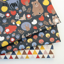 Buulqo Cotton Sheet Fabric  Printed 100% twill cotton fabric for DIY bedding childrens clothing accessories