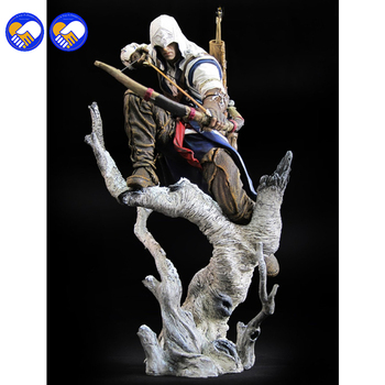 New Connor The Hunter Figurine Classic Game Assassins Assassin's Creed 3 III 10″ Action Figure