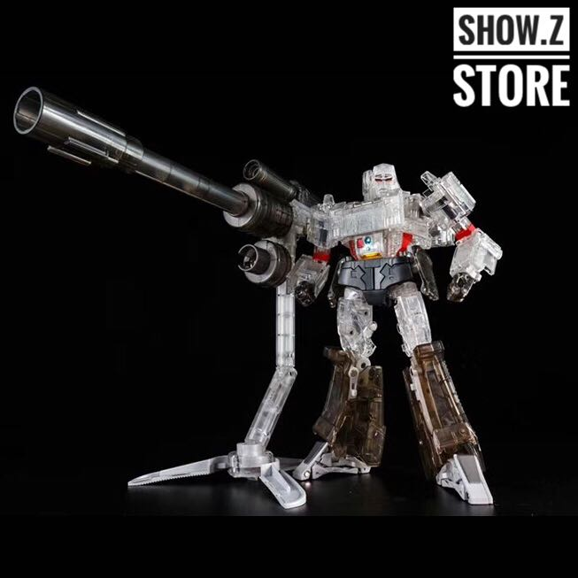 [Show.Z Store] Toy House Factory THF Dynastron MP-36 MP36 Clear Version Transformation Action Figure thf 51 thf 51s