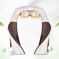 Jinkairui Электрический массаж машина плеча Средства ухода за кожей Шеи massagem шаль автомобиль дома двойного назначения Акупунктура разминание С