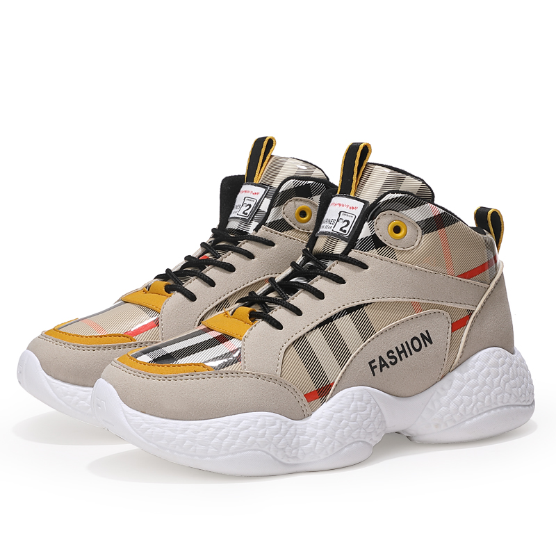 Up De forme Air Ky3 Chaussures Respirant Lace Marche Lettres Black white Printemps Femelle Plat yellow Plate Plein En Femmes Appartements Impression Occasionnel Mode wpSqOEp