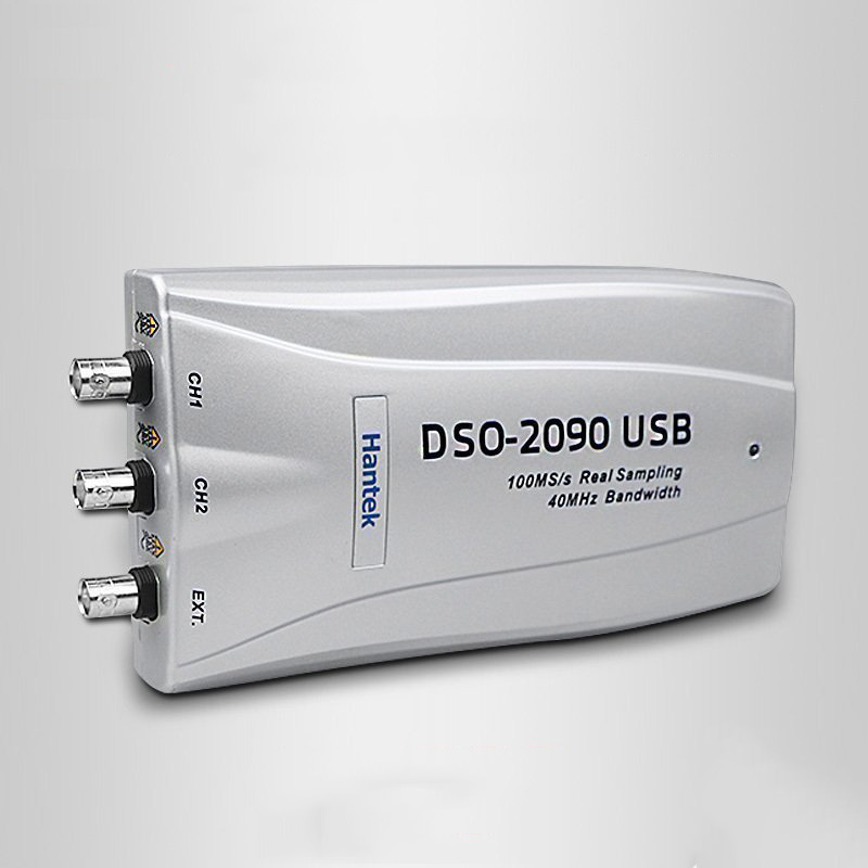 <font><b>Hantek</b></font> DSO2090 PC USB Digital <font><b>Oscilloscope</b></font> 100MS/s 2CH <font><b>40MHz</b></font> USB2.0 25pF image