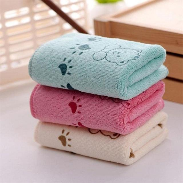 1 toalla de baño para bebé, pañuelo, paño de alimentación para recién nacido, secado lindo, cómodo, 3 colores, 48*24,5 CM absorbente toalla de baño