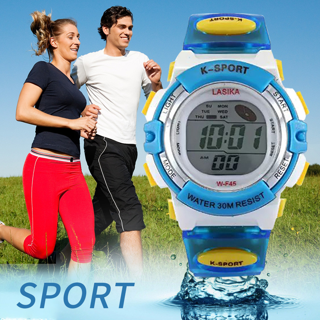 children's watch Multi Function Alarm Clock Student Waterproof Sports Fashion Electronic Watch children's watch for boys