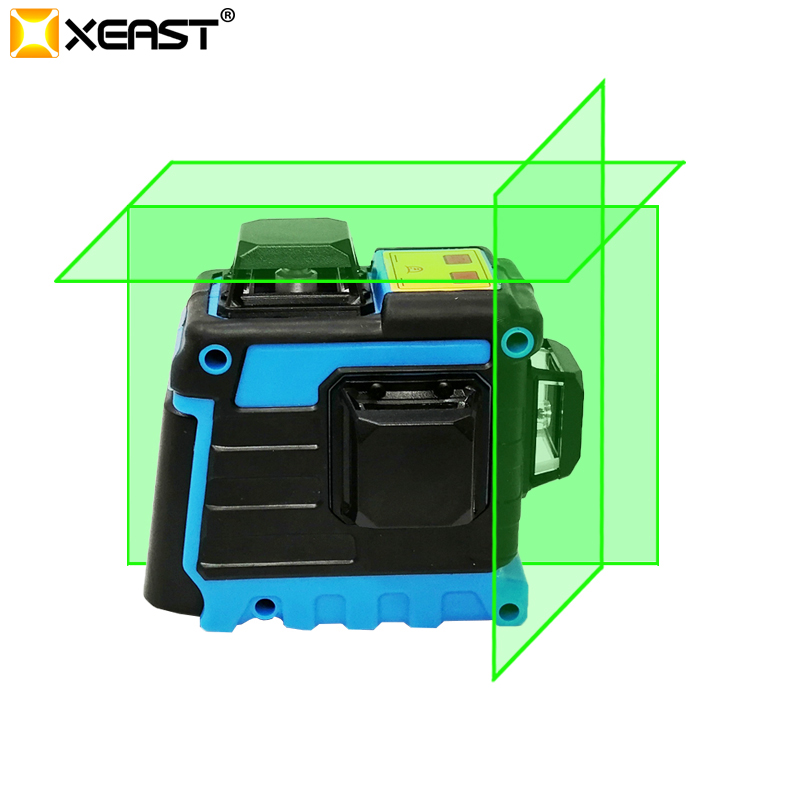 XEAST Laser Level 12 Lines 3D Level Self Leveling 360 Horizontal And Vertical Cross Super Powerful