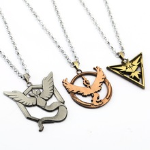 Pokemon Go Valor Mystic Instinct Necklace