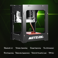 METERK DK BL 1500mW Mini DIY Laser Engraving Machine Wireless Bluetooth Print Engraver Bluetooth 4 0