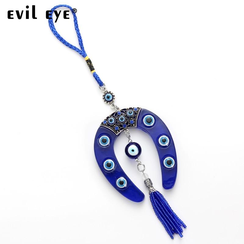 turque porte-bonheur 20 pièce pack göz perles 9,5-10mm//BLEUE-oeil-tur