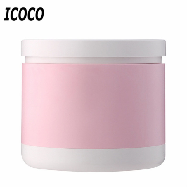 ICOCO Pink/BLue/Black Color Portable USB Rechargeable Round Telescopic LED Eye Protection Desk Table Reading Sleep Night Lamp