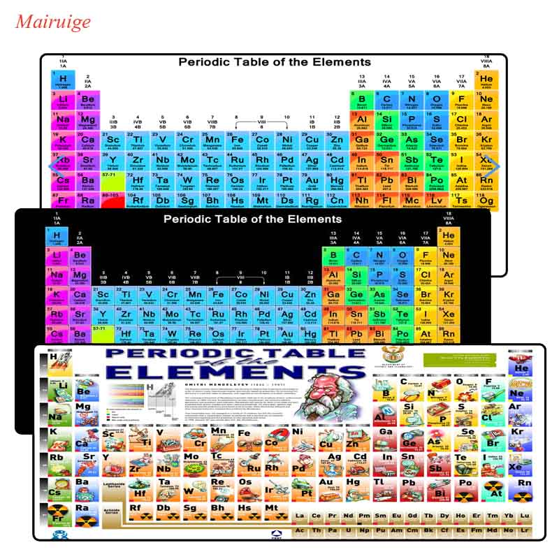 Mairuige periodic table 900x400x3mm pad notbook lock edge mousepad mairuige periodic table 900x400x3mm pad notbook lock edge mousepad gaming padmouse gamer to large keyboard mouse mats for dota in mouse pads from computer urtaz Images