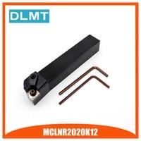 Alta qualidade MCLNR2020K12 95 Graus External Torno de Giro Barra de Ferramentas Holder Para CNMG120408 CNMG120408 Usado na Máquina de Torno CNC