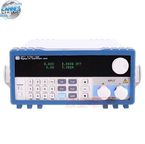 m9711 programmable dc electronic load 0 30a 0 150v 150w ac110 220v power supply cc cr cv cw cc
