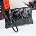 Luxury Women's Handbags Fashion Designer Crocodile Leather Wallet Casual Money Bag Clutch Phone Card Holder Coin Purse Hot Sale