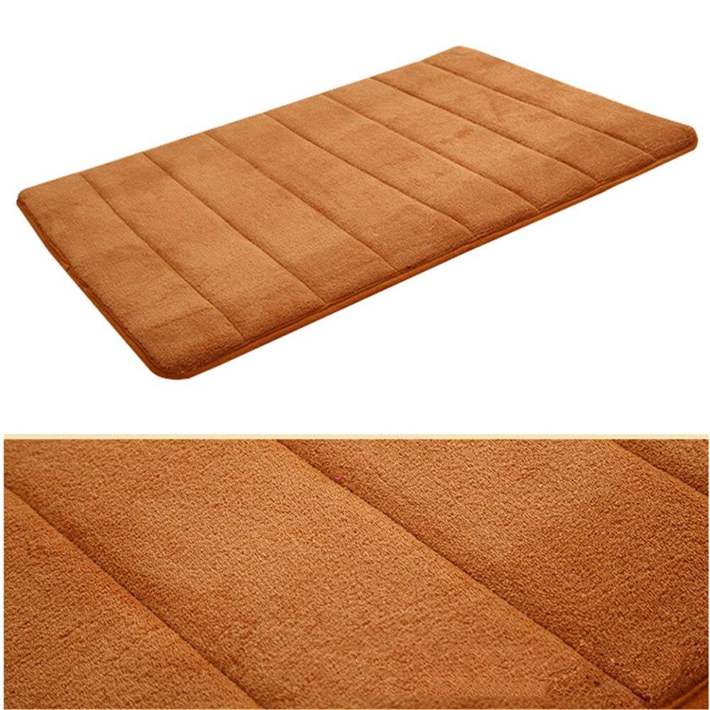 Coral Velvet Floor Mats Doormat Area Rug Bathroom Kitchen Non Slip Small Carpet Door Floor Mat