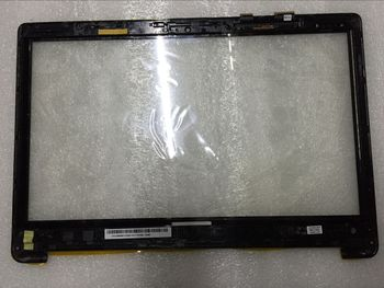 "New for  Asus 15.6 ""TP500  TP500L  TP500LN touch screen digitizer glass replacement with frame 13NB05R1AP0221"