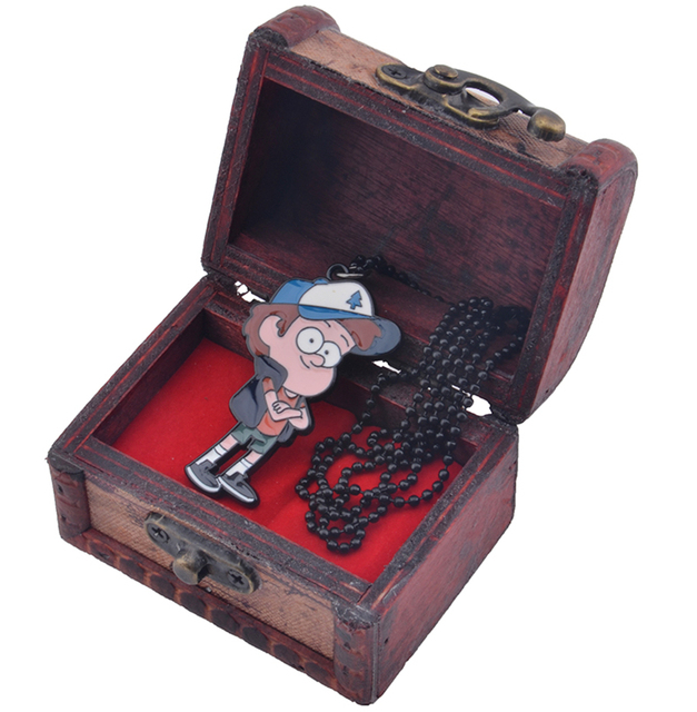 Кулон Диппер Гравити Фолз в подарочной коробке 1