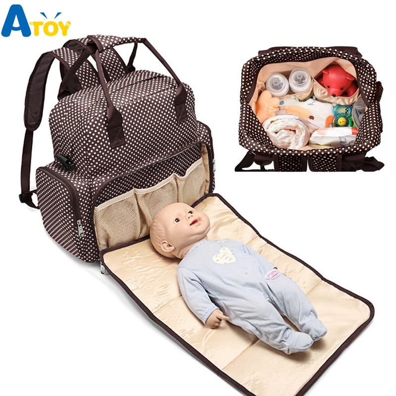 Mummy Maternity Diaper Bag Backpack Nursing Bag Travel Backpack Stroller Bag Baby Care Baby Nappy Bag With Changing Pads