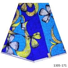 african wax print ankara fabric for dress 2019 real 100% cotton cheap wholesale 6yds/lot