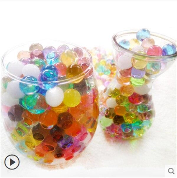 Aliexpress.com : Buy 100 Pcs Pearl Shaped Crystal Soil