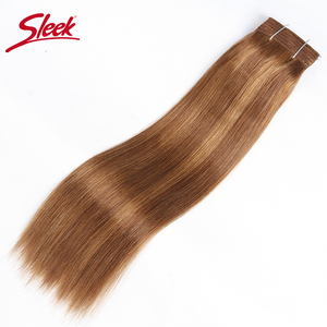 Image 5 - מלוטש רמי שיער ברזילאי יקי ישר שיער טבעי חבילות 1 pc פסנתר P4/30 # P1B/27 # P6 /27 # שיער Weave חבילות הרחבות 113 גרם