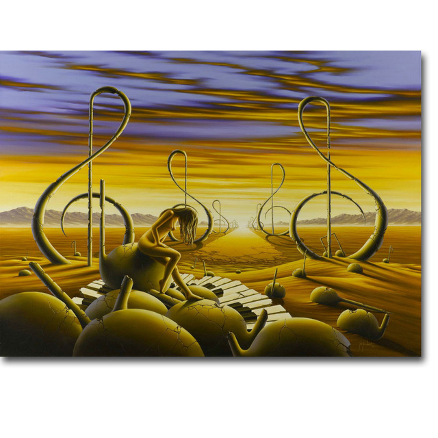 Inspired Salvador Dali Art Silk Poster Print 13x18 24x32 inch ...