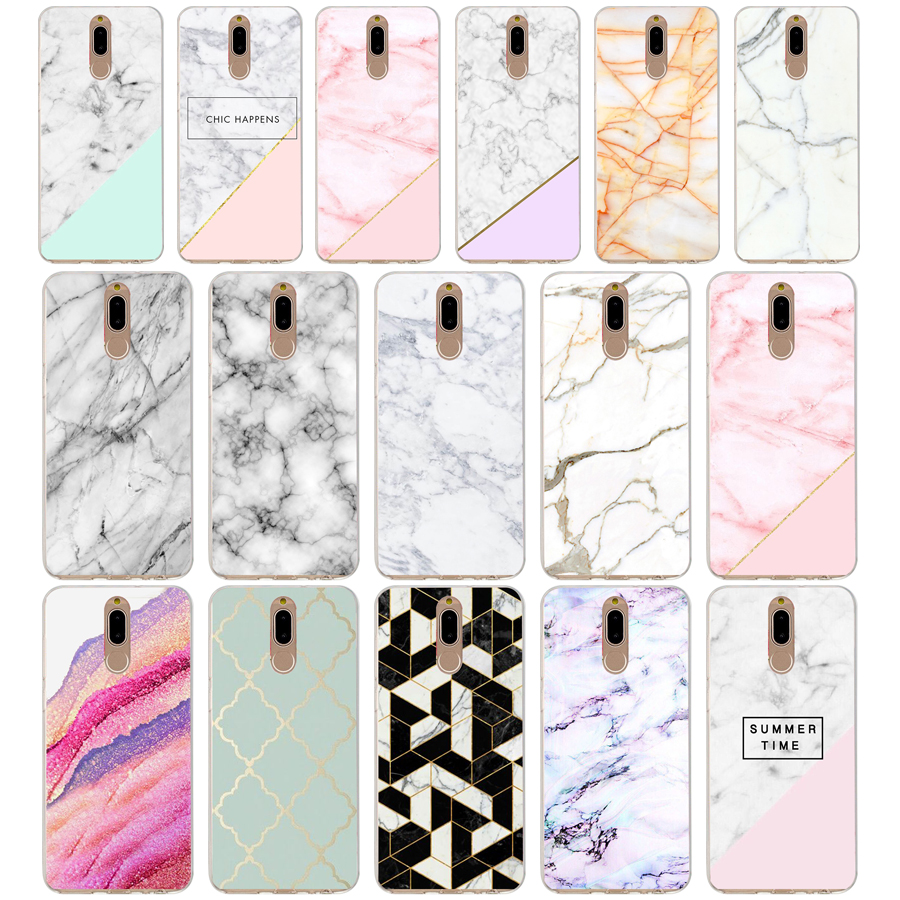55g Marble Stone Soft Tpu Silicone Cover Case For Huawei Mate 10 P9 Lite 2017 P Smart