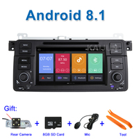 IPS screen Android 8.1 Car DVD Stereo Multimedia Player for BMW E46 M3 with Radio WiFi BT GPS Navigation