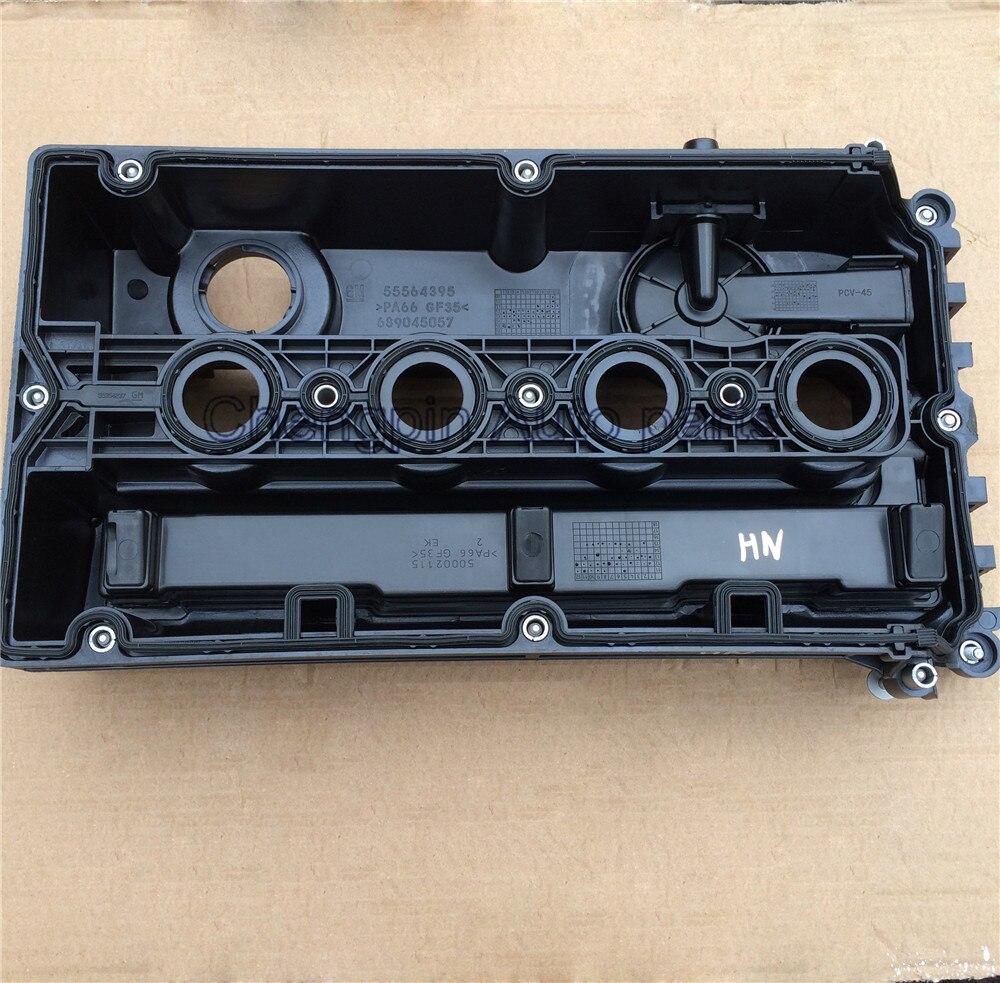 Oryginalny pokrywy zaworów silnika Brand new OEM #55564395 55558673 dla Chevrolet Chevy Cruze Aveo 1.6L saturna Astra