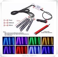 Renk için LED araba iç dekorasyon atmosfer işıklar infiniti fx35 g35 g37 q50 q70 qx50 qx70 fx fx37 m35