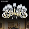 Modern LED Chandelier Light Stainless Steel Suspension Drop Lamp For Living Dining Room LED Lustres Indoor