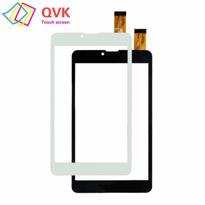 Czarny 7 Cal do Prestigio MultiPad wize 3147 3G pmt 3147_3g pojemnościowy ekran dotykowy panel wymiana naprawa części zamienne