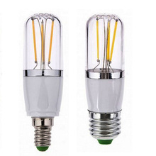e27 led e14 cob filament 12V lamp dimmable110V/220V  bulb 3w 6w e27 e14 led lamp filament housing cob corn blub e27 e14