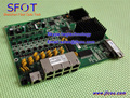 PCB board, PD with 8 ethernet ports, reverse POE optical network GPON ONU,8 ports PCB card