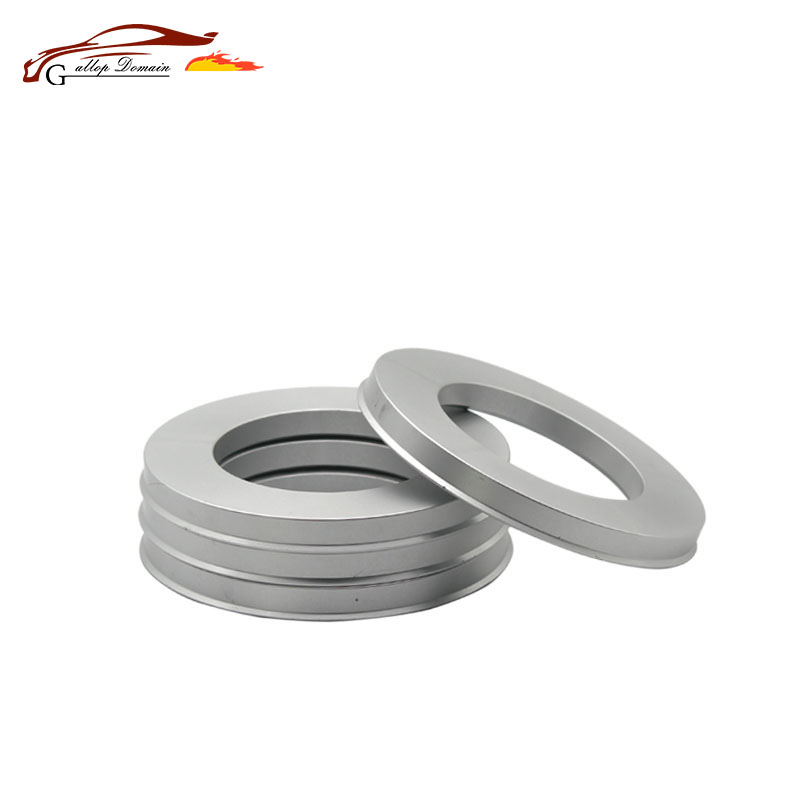 4pieces/lots 106.1 to 67.1Hub Centric Rings OD=106.1mm ID= 67.1mm Aluminium Wheel hub rings Free Shipping Car-Styling