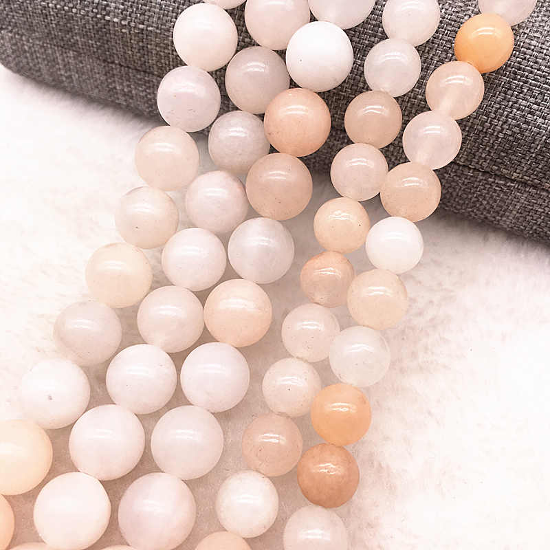 Großhandel Naturstein Perlen Lose Distanz Stein Perlen Für Schmuck Machen DIY Armband Halskette 6mm 8mm 10mm strang 15,5 ''#22