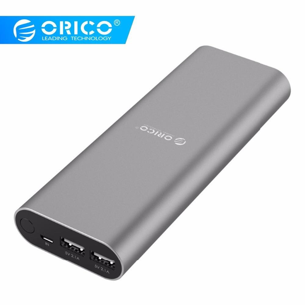 ORICO S2 20000 mAh double Port USB batterie externe universelle batterie externe pour iPhone 7 6 s Samsung S6 Xiao mi PadORICO S2 20000 mAh double Port USB batterie externe universelle batterie externe pour iPhone 7 6 s Samsung S6 Xiao mi Pad